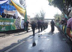 Mais 3 mil pessoas participam do Desfile Cívico de  7 de Setembro