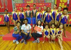 Ginastas de Jandira conquistam o 3º lugar em maior campeonato estudantil