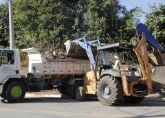 Ecopontos de Carapicuíba recolhem cerca de 20 mil toneladas de entulhos em 2019