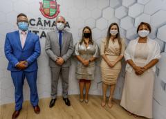 MESA DIRETORA DA CÂMARA DE ITAPEVI É ELEITA POR UNANIMIDADE
