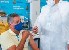 Carapicuíba inicia vacinação de população acima de 56 anos